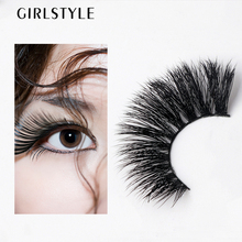 GIRLSTYLE Eye Makeup Tool 1 Pair False Eyelashes 3D Long Thick Natural Fake Eye Lashes Makeup Tips Big eye Long False Eye Lashes