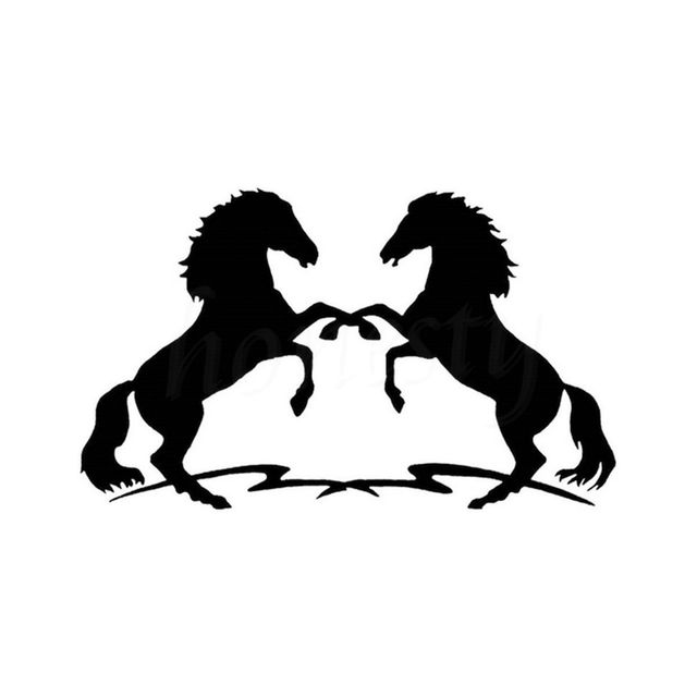 Cool Horse Fashion Car Motorcycle Wall Window Cartoon Sticker Home - Cool vinyl decals