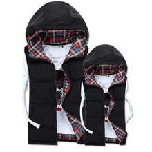 massive  UNISEX  man winterjas heren down jacket 2015 put on garment coat males's winter jackets sleeveless waistcoat vest free ship