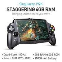 JXD S192K 7 дюймов 1920x1200 4 ядра 4 г/64 ГБ Новый геймпад 10000 мАч Android 5.1 Tablet pc игровой консоли 18 тренажеров/pc игры