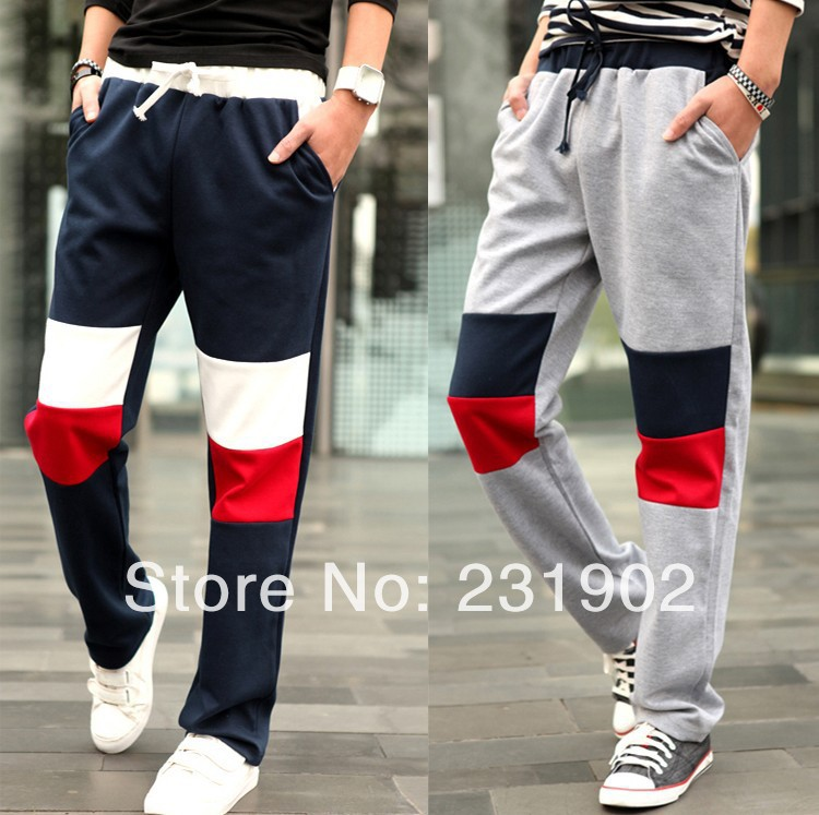 Mens Loose Sports Tracksuit Bottoms Boys Male Casual Pants Trousers Pajamas Hot - MyLovingStyle store