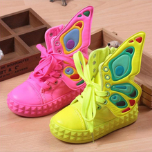 Mioigee 2019 new high-top canvas shoes for children