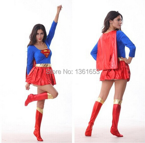 adult supergirl super women costume halloween costumes for women party COS women cosplay europe games playing clothing on Aliexpress.com | Alibaba Group  sc 1 st  AliExpress.com & adult supergirl super women costume halloween costumes for women ...