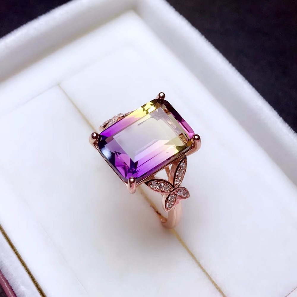 HTB1fCpPbtzvK1RkSnfoq6zMwVXag - Uloveido Exquisite Gemstone Natural Amethyst Lady Ring 925 Sterling Silver