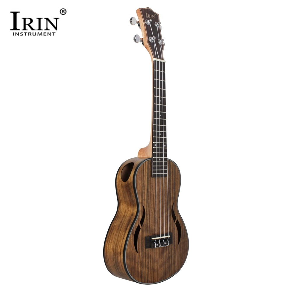IRIN New Style 26 Inch Ukulele Hawaiian 4 Strings Guitar Walnut Body Nylon String Metal Knob Ukelele For Beginner IRIN New Style 26 Inch Ukulele Hawaiian 4 Strings Guitar Walnut Body Nylon String Metal Knob Ukelele For Beginner