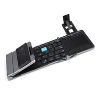 Universal Folding Keyboard Touchpad With Stand For Hua Wei Portable Wireless Foldable Touchpad Keyboard For IPhone