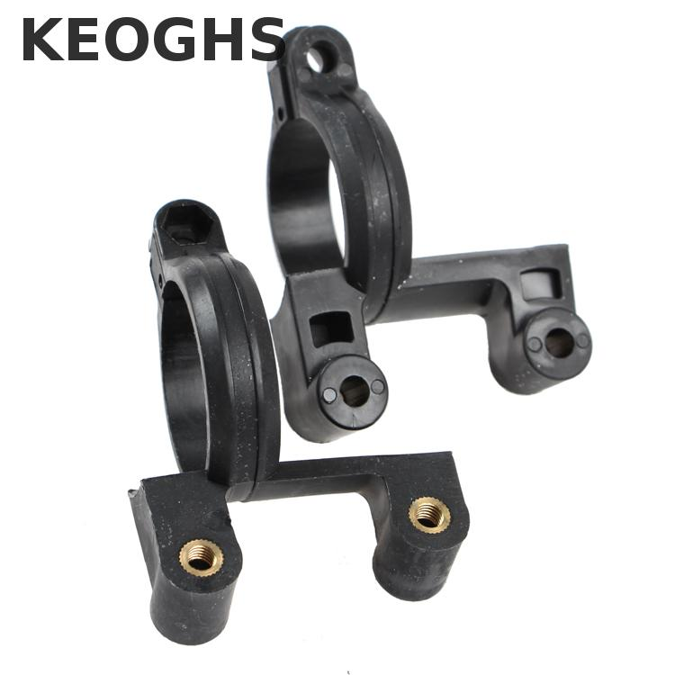 Keoghs Motorcycle Front Shock Absorbers Fork Clamp/fender Bracket/mudguard Connection Rubber Material For Fastace Shocks Yamaha keoghs shock absorbers refit parts heightening device for motorcycle scooter damper shock absorber height increase