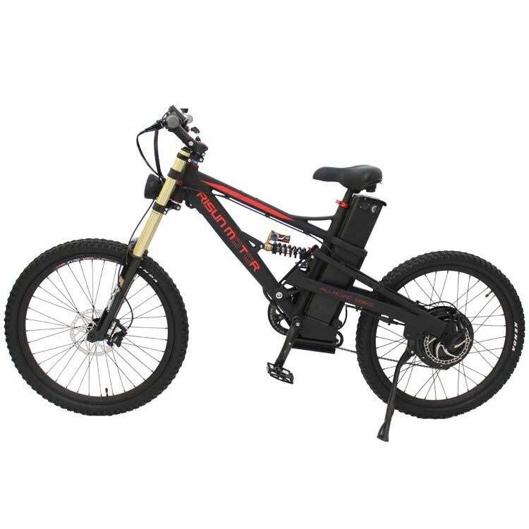 2018 puissant moteur sans moyeu sans engrenage 48 V 1000 W roue arrière vélo électrique bricolage Kits de Conversion avec affichage LCD3