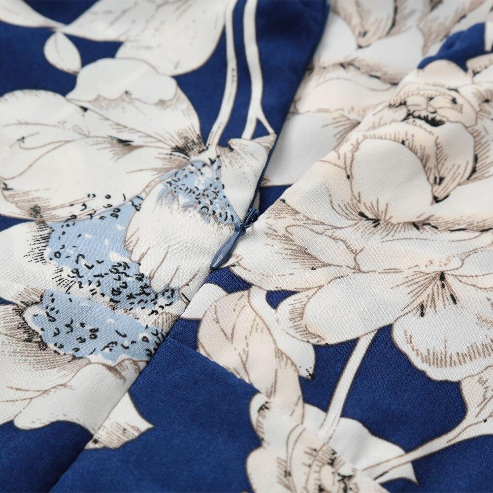 Boho Floral Vintage Long Dress 14