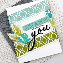 Naifumodo Background Die You Letter Metal Cutting Dies Craft Frame for Happy Fathers Day Scrapbooking Card Making DIY