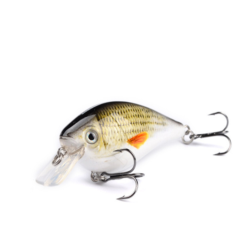 1PCS Wobblers Quality Crankbait Simulation Fishing Lure 7.6cm 12.5g Jerkbait  Floating Hard Bait Bass Carp Pesca Fishing Tackle