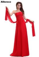 أحمر مثير حمالة الإمبراطورية شاطئ مساء اللباس الأنيق حزب طويل مساء اللباس لل نساء الحوامل الرسمي أثواب مطرزة الديكور