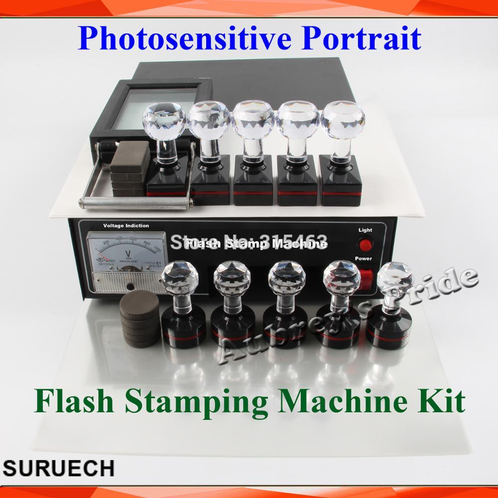 HOT SALE] 2 Exposure Lamps Photosensitive Flash Stamping
