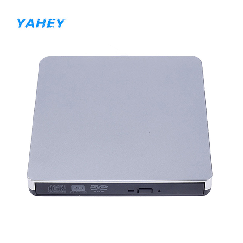 USB 3.0 Optical Drive DVD-RW Burner Player External CD/DVD-ROM Recorder Superdr for Lapt ...