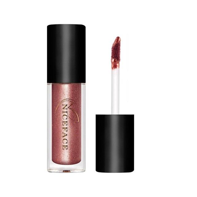 Professional 12pcs/set Metallochrome Liquid Lip Gloss Set Matte Lipstick Cosmetics Shining Long-lasting Makeup Lipgloss 12 color