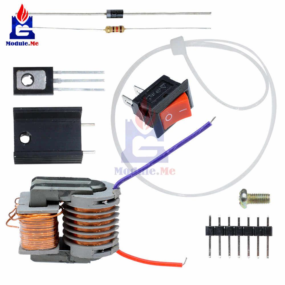 medium resolution of diy kit 15kv high frequency dc high voltage arc ignition generator inverter boost step up 18650
