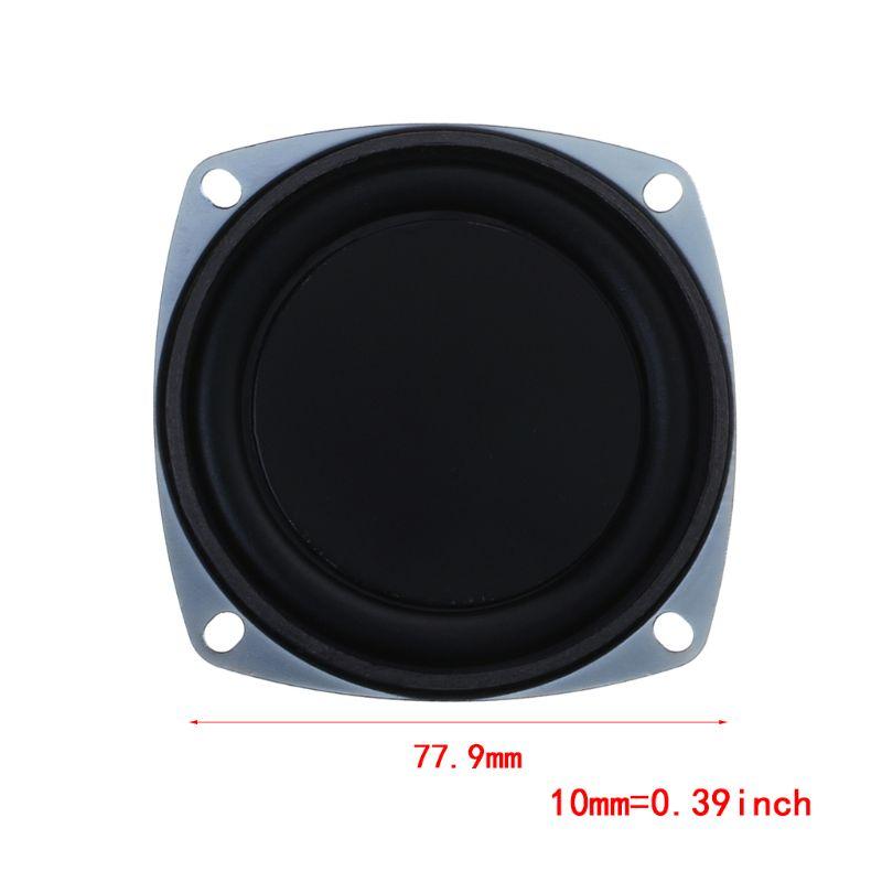 Image 5 - 2PCS Bass Speaker 77.9mm Vibrating Vibration Membrane Passive Woofer Radiator Diaphragm DIY Repair Kit-in Speaker Accessories from Consumer Electronics