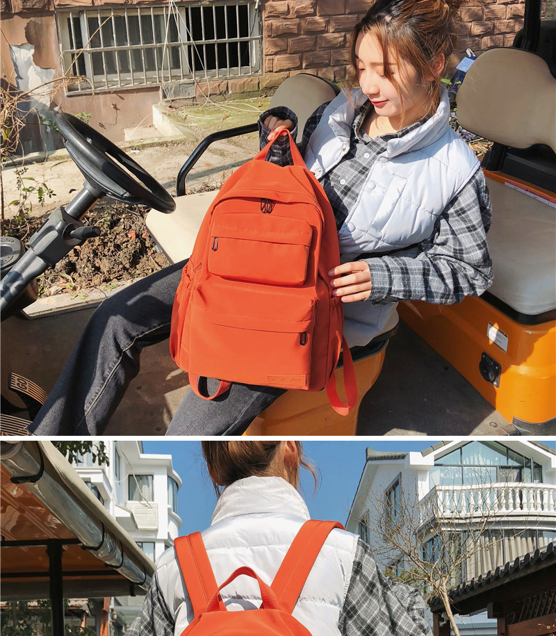 HTB1fCrjKwHqK1RjSZFEq6AGMXXaj DCIMOR New Waterproof Nylon Backpack for Women Multi Pocket Travel Backpacks Female School Bag for Teenage Girls Book Mochilas