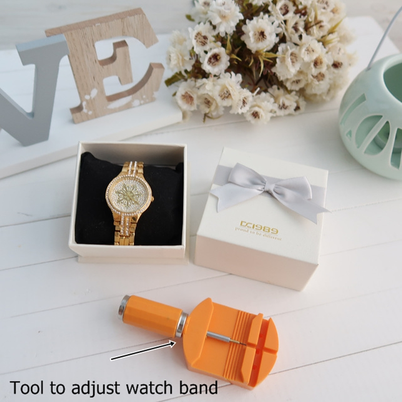 A8342 money stone watches crystals clock (8)