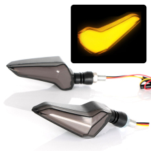 Мотоциклетный светодиодный светильник мигалка указатели поворота для Kawasaki Z650 Honda Cbr 250r cb1000r Yamaha BMW светодиодный сигнальный светильник поворота
