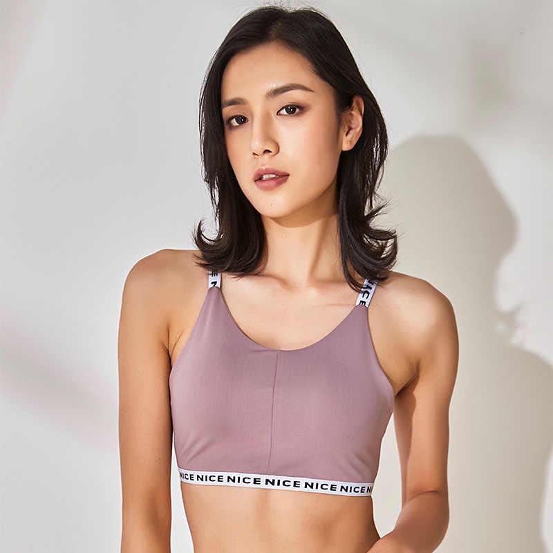 Sujetador Push Up sin costuras sujetador activo entrenamiento deporte Bh Crop Top Fitness ropa activa para gimnasio sujetador de mujer ropa deportiva