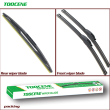 Front and Rear Wiper Blades For GMC Envoy 2007 -2009  Windscreen Windshield Wiper Rubber Car Accessories Auto Parts 22+22+12