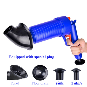 Image 2 - VOZRO 홈 고압 공기 드레인 블래스터 펌프 플런저 싱크 파이프 방해물 화장실 욕실 주방 클리너 키트 Cucina 흡입 컵