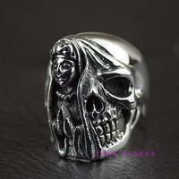 Таиланд, мужское серебряное конфетное кольцо в тайском стиле
