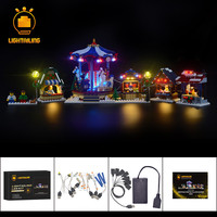 LIGHTAILING Led Flash Light Kit For Village Market Building Block Light Set Compatible With 10235 And 36010 For Christmas Gift