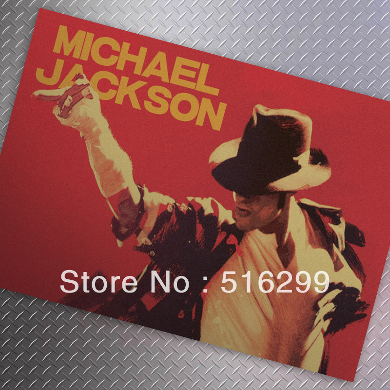 [ Mike86 ] MJ COOL Dancing Classic Vintage Paper Poster Home Decoration 51X35 CM  MK-41