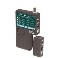 MT-7057N 4 in 1 네트워크 케이블 테스터 분석기 bnc usb 테스트 와이어 회로 차단기 파인더 전화선
