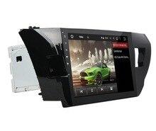 "10,1 ""Android 8,0 Car Audio DVD Радио gps для Toyota Левин 2013 2014 2015 4 ГБ Оперативная память Bluetooth WI-FI USB Зеркало-link 32 ГБ Встроенная память"
