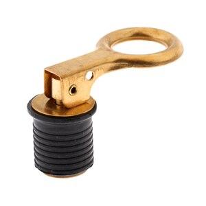 Image 4 - 1 Inch Brass Snap Lock   LIVEWELL / BAITWELL Barco DRAIN PLUG Marine Hardware bateau vidange