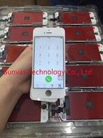 Новый Полный ЖК-Дисплей С Сенсорным Экраном Digitizer Замена Тяга Для iPhone 4/4S/5/5S/6 S/6 s Плюс 5.5