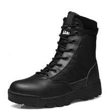 2017 Winter Army Boots Men's Military Desert Boot Shoes Autumn Breathable Snow Ankle Boots Botas Tacticos Zapatos