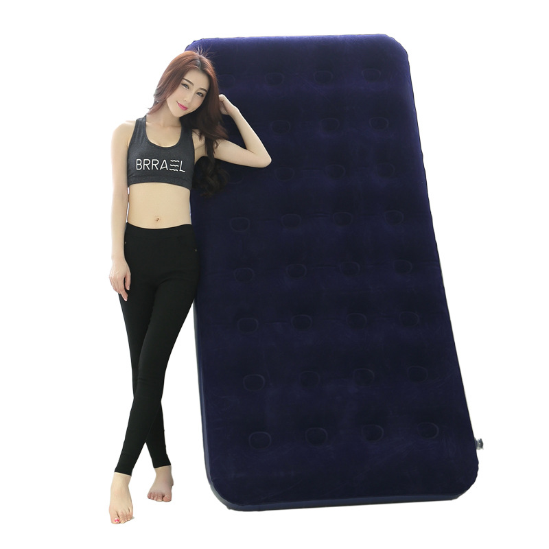 Single/Double Beach Air Mattress Pool Float Inflatable Bed Camping Mat Adult Sleeping Bag Lazy Sofa Indoor Lounger Laybag boia