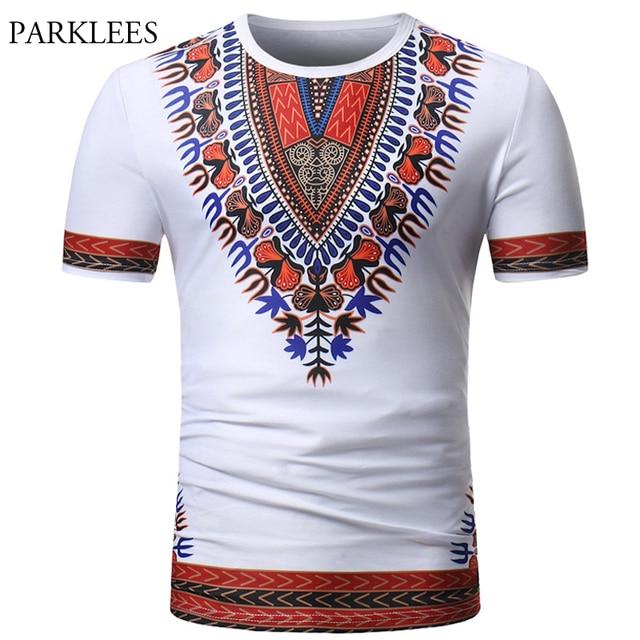 cb1b7fd96561 African Dashiki T Shirt Men 2018 Summer Brand Short Sleeve Tee Shirt Homme  Casual Slim Fit O Neck Dashiki Print Male T-shirts