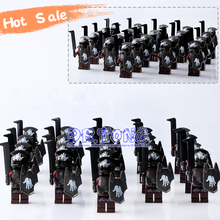 DR TONG 21PCS Lot Medieval Castle Knights Hero of Sparta The Lord of the Rings Mini