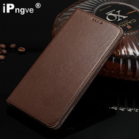 PU Genuine Leather Flip Cover Case For Samsung Galaxy A8 A8000 A8009 A800F Phone Coque With