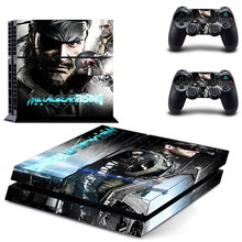 METAL GEAR SOLID Vinyl Decals Skin Sticker Cover for PS4 Playstations 2 Controllers Sticker