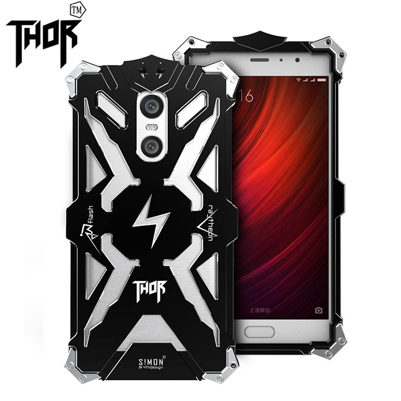 Fashion Simon for xiaomi redmi pro Shockproof Metal Thor Ironman Protect Cases for redmi pro Phone