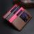Estilo de la vendimia de la cubierta del tirón de lujo del cuero genuino para huawei honor 8 ventana de visualización inteligente respuesta coque bolso del soporte del teléfono