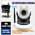 Wireless IP Camera 720P  Wifi HD CCTV CAMERA Audio Mega P2P Alarm Baby monitor  FREE APP Network IR-CUT Night Vision Record PT