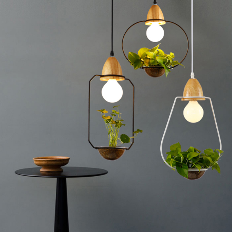ZYY Loft Retro Green Plant Vase Pendant Light GOLD Iron For Dining Room Restaurant Bedroom Coffee shop Living Room LED E27 bulbs aroma tomsline aby 3 bluesy vintage blues overdrive electric guitar effect pedaltrue bypass