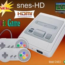 8 Bit Klasik Retro Mini TV oyun konsolu HD çıkış video oyunu Dahili 621 Oyun