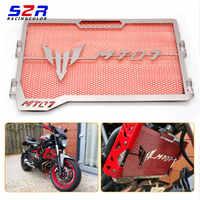 Edelstahl Motorrad Kühlergrill Wache Moto Protector Grill Abdeckung Motor bike für Yamaha MT07 MT-07 mt 07 2014 2015 -16