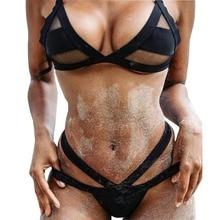 2015 New Summer Sexy Women Vintage Swim wear Micro Bikini Hollow Out Mesh Bikinis Triangle Swimsuit biquinis women