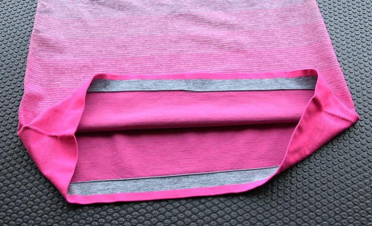 Gymnastik Frauen Sport Shirts Schnell Trockenlaufendes T-Shirt Ärmel - Sportbekleidung und Accessoires - Foto 6