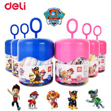 Deli Paw Patrol Spin Master Water-color Pens Non-Toxic Washable 12/18/24 Colors School Chancery Coloring Painting Set Kid's Gift(China)