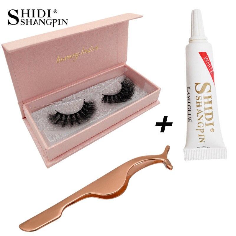 SHIDISHANGPIN  3d Mink Eyelashes Kit Natural Long 3d Mink Lashes Hand Made False Eyelashes Eyelash Extensions Makeup Kits #62kit